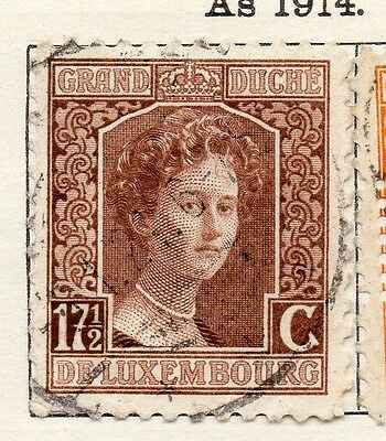 Luxembourg 1916 Early Issue Fine Used 17.5c. 133878