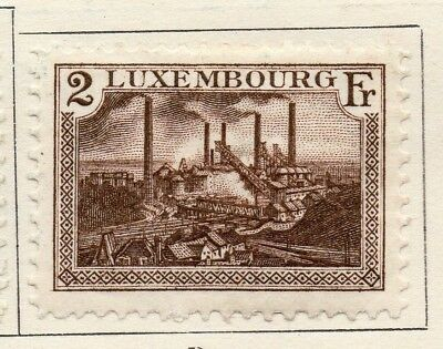 Luxembourg 1924-26 Early Issue Fine Mint Hinged 2F. 133924
