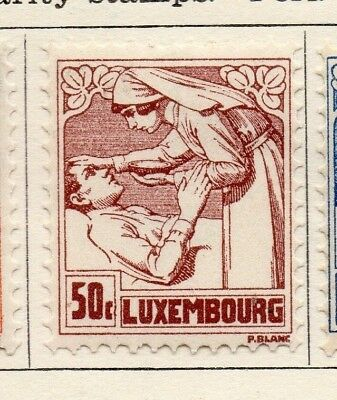 Luxembourg 1925 Early Issue Fine Mint Hinged 50c. 133928
