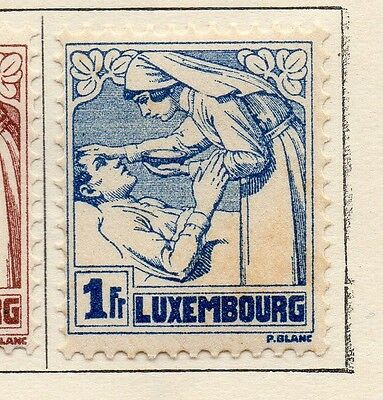 Luxembourg 1925 Early Issue Fine Mint Hinged 1F. 133929