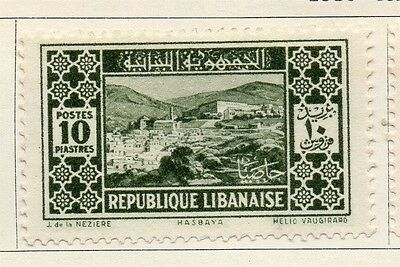 Great Lebanon 1930 Early Issue Fine Mint Hinged 10p. 133963