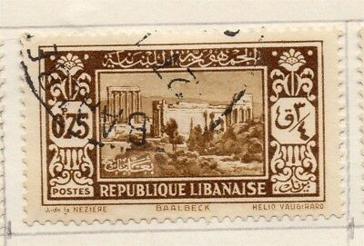 Great Lebanon 1931 Early Issue Fine Used 75p. 133975