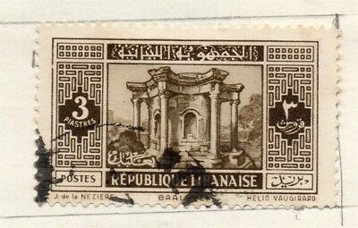Great Lebanon 1931 Early Issue Fine Used 3p. 133979