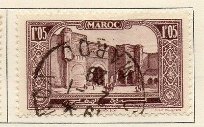 French Morocco 1927 Early Issue Fine Used 1.05F. 133606