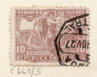Portugal 1923 Early Issue Fine Used 10c. 133665