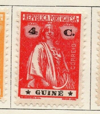 Portuguese Guinea 1922 Issue Fine Mint Hinged 4c. 133677