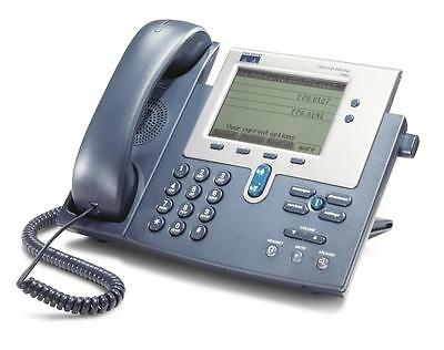 Used - Cisco CP-7940G - 2 Line VoIP [SCCP] IP Phone