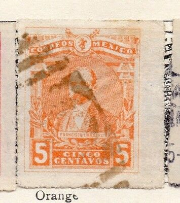 Mexico 1915 Early Issue Fine Used 5c. 133838