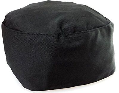 Black Chef Hat Elastic Back