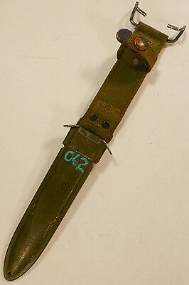 US WW2 M8 B.M.CO SCABBARD USM8 TRENCH KNIFE Bayonet 1940'S M3 RARE #6