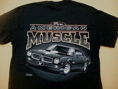 1970 1971 1972 1973 Pontiac Firebird Trans Am Shirt Pure American Muscle