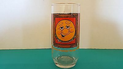 """Burger King 1979 Promotional Vintage Drinking Glass """"The Burger Thing"""""""