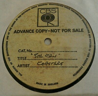 RARE CBS ACETATE 45 The Coasters She Can 1968 DIRECTION 583701