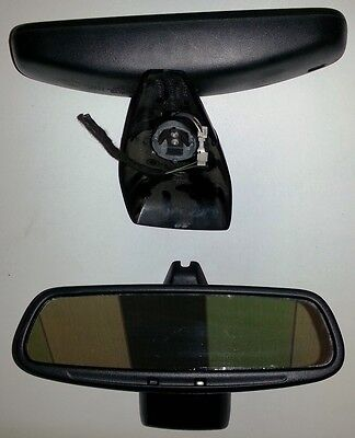 Genuine Ford Mondeo Mk3 Auto Dimming Rear View Mirror - Push-On Facelift + Cover