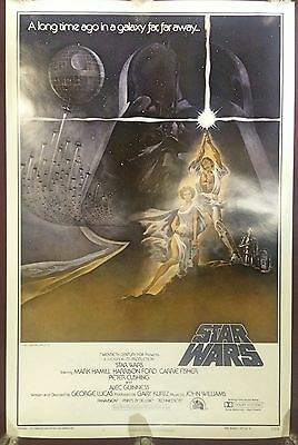 RAREST 1977 Star Wars Style A 1sh 27x41 ROLLED 77/21-0 PMS Printer Proof Trimmed