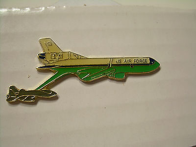 Air Force Refueling Refuel Tanker Jet Pin - Vintage