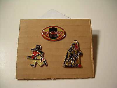 Cowboy Rodeo Devil Vintage pins from the 80's