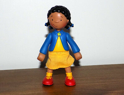 PBS Caillou CLEMENTINE Poseable Figure toy ~ RARE ~ BRAND NEW!!