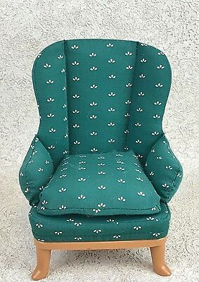 Eden Madeline Wingback Chair Armchair Dollhouse Furniture Old House in Paris