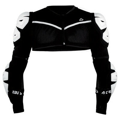 Acerbis Mens Cosmo Protection Under-Jacket LS Small/Medium White