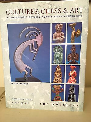 Cultures,CHESS & Art Book by Ned Munger