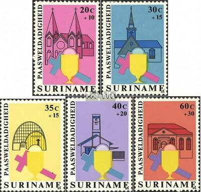Suriname 864-868 (complete issue) unmounted mint / never hinged 1979 Easter