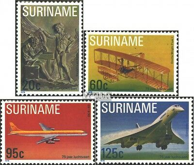 Suriname 849-852 (complete issue) unmounted mint / never hinged 1978 Motorflug