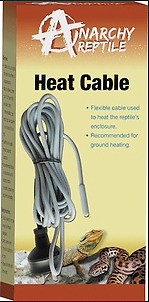 Anarchy Reptile Heat Cable Cord Flexible 25w 4.5 metre