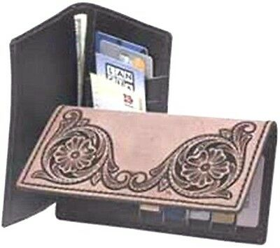 ROPER WALLET KIT 4044-01 Tandy Leather Craft Wallets Checkbook Covers Kits
