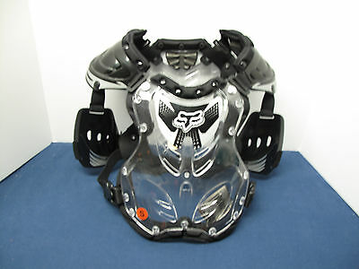 Fox Racing R3 Roost Deflector Guard Chest Protector BLACK