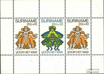 Suriname Block 26 (complete issue) unmounted mint / never hinged 1980 Youth