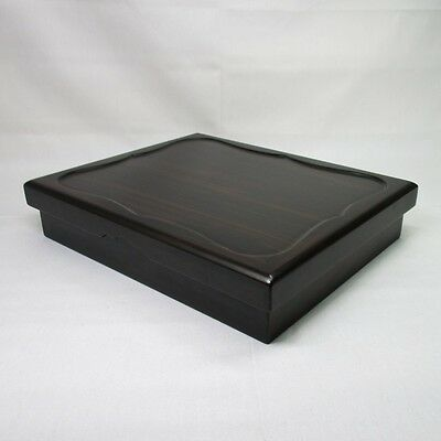 G702: Japanese wooden storage box made from popular KARAKI with good wood taste