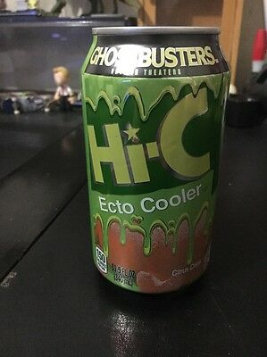 Hi-C Ghostbusters Ecto Cooler Slimer Limited Edition Color Changing Can Juice