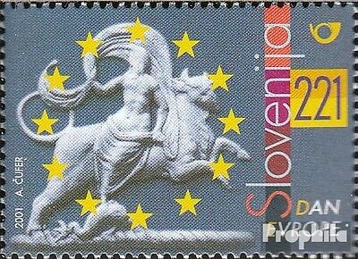 slovenia 348 (complete issue) used 2001 europe