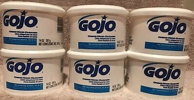 *NEW LOT OF 6!* GOJO® Creme Hand Cleaner 1141-12  ~14 oz each