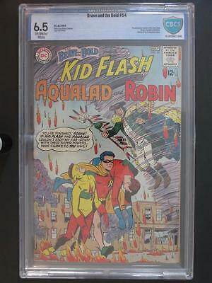 Brave and The Bold #54 - CBCS 6.5 FN+ DC 1964 - 1st App/ORIGIN The Teen Titans!