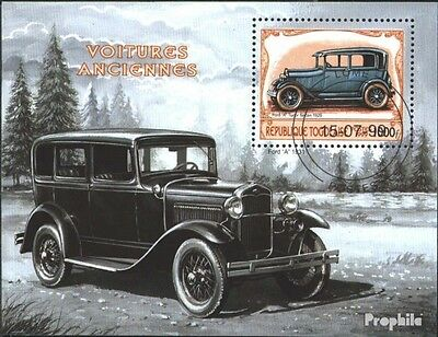 Togo block443 (complete issue) used 1999 Historical Automotive