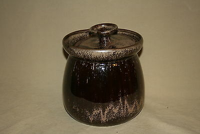 Blue Mountain Pottery #406 Mocha Canister With Lid Mint 41033