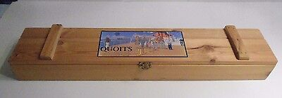 Quoits Game by House of Marbles with Wooden Box Complete