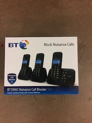 Bt3960 Nuisance Call Blocker Trio - Digital Cordless Phone & Answer Machine