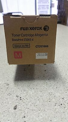 Genuine Xerox CT201666 Magenta Toner for DocuPrint CP5005D Brand New 25,000 page