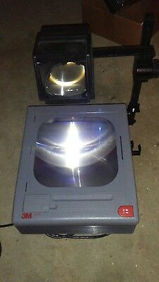 3m 9100 Overhead Projector W/ two bulbs support local schools
