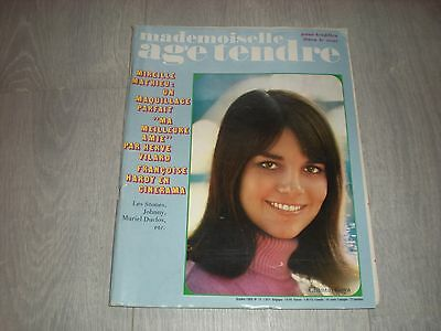 MADEMOISELLE ÂGE TENDRE N°24 OCTOBRE 1966 FRANCOISE HARDY  Revue ancienne