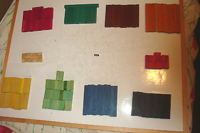 Wooden Blocks-Various Sizes; Colours- Educational Counting Blocks-Kids