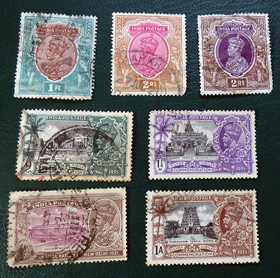 India used mix of KGV and KGVI stamps