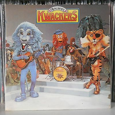Animal Kwackers - Anchor UK DOUBLE LP from 1975 Yorkshire TV