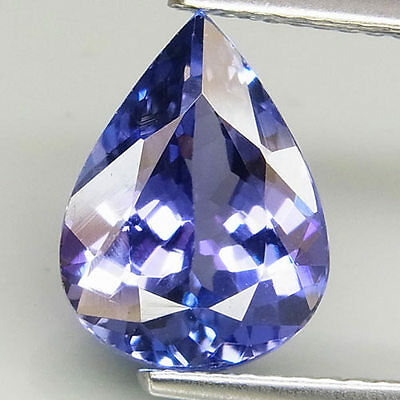3.38ct.TWINKLING GEM! 100%NATURAL TOP PURPLISH BLUE TANZANITE D BLOCK AAA HUGE!