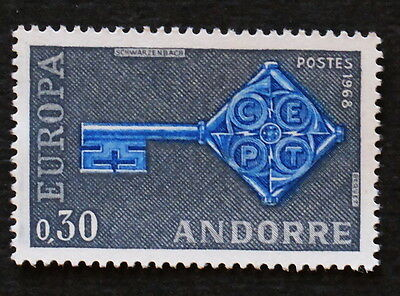 Timbres poste France Andorre n° 188