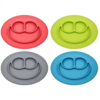 EZPZ - Mini Mat - Placemat & Plate in One + suction Choose Color - Brand New!
