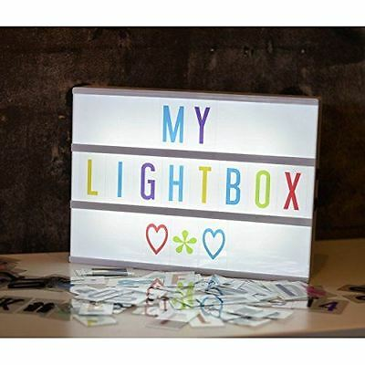 Cinema A4 Lightbox 85 pcs of Coloured Extra Letter Replacement Pack
